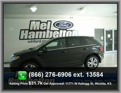 2012 Ford Edge Limited SUV  Overall Length: 184.2, Front And Rear Suspension Stabilizer Bars, Stability Control With Anti-Roll Control,