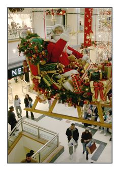 Christmas in Nottingham, England