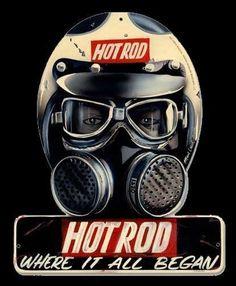 pinterest.com/fra411 #bike #art - Hot rod Where it all began