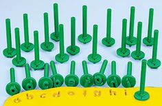Lowercase Alphabet Dough Stampers