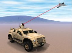 The Office of Naval Research is testing a solid-state, vehicle-mounted laser weapon designed to incinerate a range of air and ground targets such as enemy...
