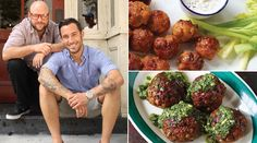 A Super Bowl Party for Meatball Maniacs