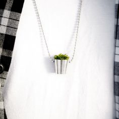 plant necklace