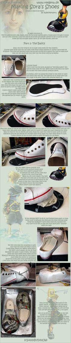 Tutorial: Sora's Shoes: Part 1 by AdlezAkuseru.deviantart.com on @deviantART