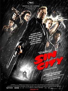 Sin City est une ville infestée de criminels, de flics ripoux et de femmes fatales. Hartigan s'est juré de protéger Nancy, une strip-teaseuse qui l'a fait craquer. Marv, un marginal brutal mais philosophe, part en mission pour venger la mort de son u...