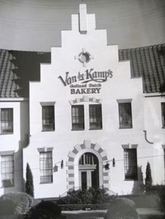 VandeKamp's Bakery in Los Angeles. I had forgotten about this place.
