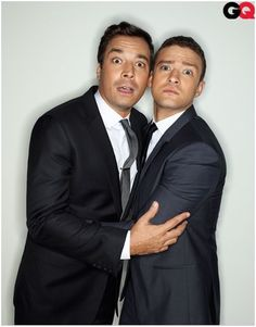 Jimmy Fallon & Justin Timberlake - they cracked me up tonight! Love me some jimmy Fallon humor! Jimmy Fallon Justin Timberlake, Justin Bieber, Saturday Night Live, Pretty People, Beautiful People, Beautiful Men, Selena, Gq Men, Look Here