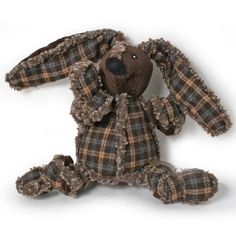 Snuggle Bunny Dog Toy