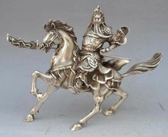 Chinese Ancient Hero Guan Gong Guan Yu 7x8 inches wonderful work, says bronze, but in China Bronze has many deffinitions