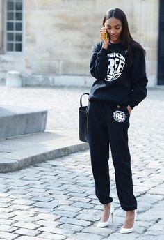Spring '14 Paris Fashion Week #StreetStyle (Photo: Tommy Ton)