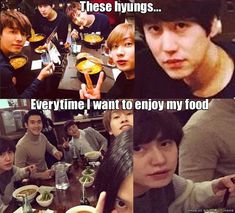 Kyuhyun is not happy....haha