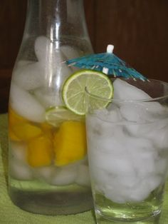 ★LOSE UP TO 15 LBS A WEEK ★ Mango Mojito Spa Water BOOSTS METABOLISM AND KEEP YOUR FULL LONGER!  #LoseWeightByEating
