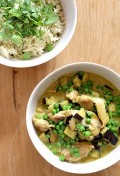 Culy Homemade: heerlijke groene curry met kip