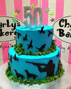 50th birthday hunting cakes - Google Search