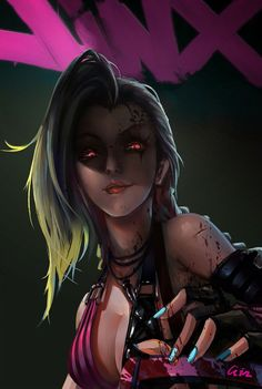 jinx ; personagem de league of legends