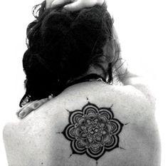 #Mandala #Loto #Lotus #OM #Flower #Tattoo