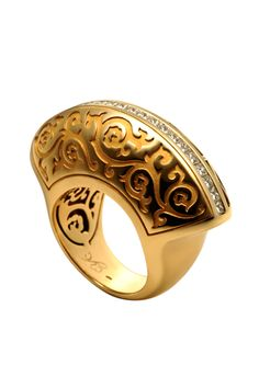 """Carrera Y Carrera 18k Gold """"Cordoba"""" Ring With Diamonds Profile Photo"""
