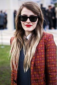 street style: New York Fashion week via British Vogue