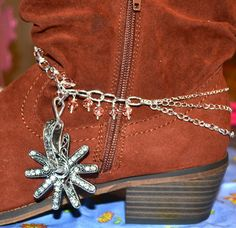 Boot+Jewelry+Boot+Wrap+Boot+Bling+Boot+Bracelet+by+CowgirlUpLadies,+$14.00