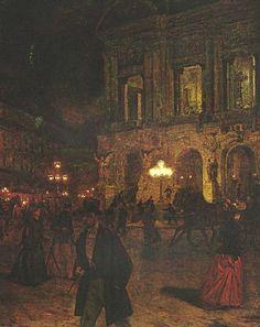 Opera Paris by Night: Aleksander Gierymski.