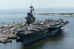 uss forrestal | CVW-6 aboard USS Forrestal (CV 59) - Mayport, Florida - April 1988
