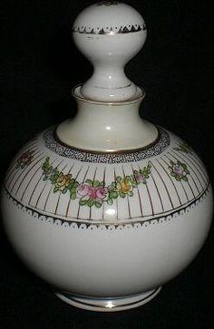 Nippon Noritake Perfume Bottle vintage Victorian style