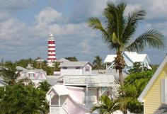 bahamas, abaco, hope town, lighthouse