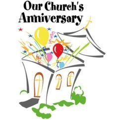 sample church anniversary ads