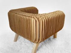 Cardboard Armchair in furniture cardboard with Cardboard Armchair Cardboard Chair, Diy Cardboard Furniture, Cardboard Recycling, Cardboard Sculpture, Cardboard Toys, Recycled Furniture, Handmade Furniture, Cardboard Playhouse, Furniture Styles