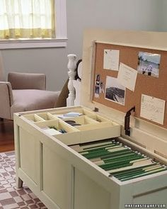 Clever organizing ideas. Making this file chest! by vilmavee.lahham