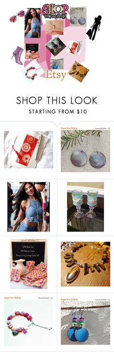 """SHOP TIL YOU DROP ON ETSY #epiconetsy #etsyfinds #etsyshop #etsygifts #shoppingqueen #shoppersloveyou #etsyteamunity #etsy #boho #jewelry #etsyaddict"" by christine-bygrave ❤ liked on Polyvore featuring House of Holland, EtsyTeamUnity and etsyevolution"