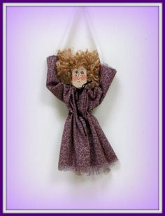 The Best Free Crafts Articles: Sammy The Stick'Em and Collect'Em Wooden Stick Doll Ornaments Free E-Pattern by Linda Walsh of Linda Walsh Originals
