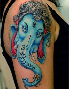 Best Ganesh Tattoos - Our Top 10 | StyleCraze