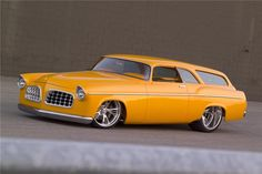 56 Chrysler 2 Door Sport Wagon Custom