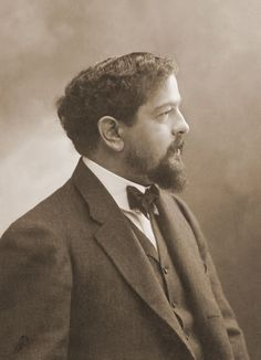 Composer Claude Debussy - photo by Félix Nadar
