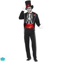 Disfraz del día de muertos para hombre