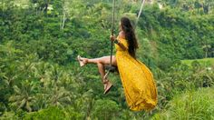 Capture the photos of a lifetime on the Bali Swing. As you soar high above jungle, rice fields, and river! Swing Photography, Raw Photo, Top Of The World, Vegan Lifestyle, Raw Vegan, Fields, Rice, Places, Photos
