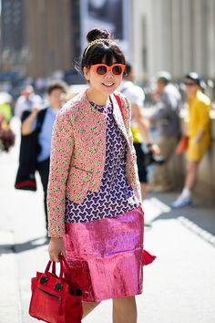 Susie Bubble -- Street Style, New York Fashion Week
