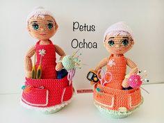 Teje muñeca alfiletero amigurumis by Petus (English subtitles) - YouTube