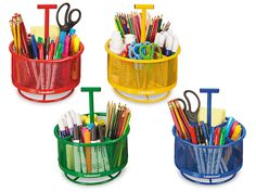Store-It-All Rotating Caddies - Set of 4