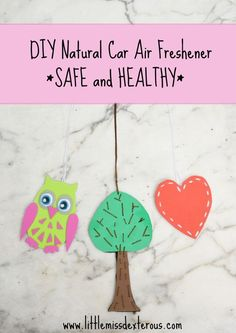 Make this DIY Car Air Freshener to ensure you are breathing in something safe! Scented by Young Living Essential Oils of your choice. Make a mobile spa!