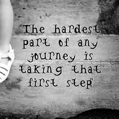 Or is it the regret of never taking that first step at all? It's time to take action 👊