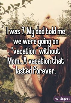 Whisper App.  How did your parents break the news that they were divorcing?