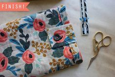Tutorial: Quilted tablet sleeve – Sewing