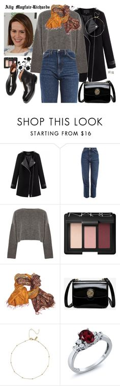 """""""ally mayfair-richards"""" by gabrielleclud on Polyvore featuring Chicnova Fashion, Topshop, NARS Cosmetics, Mélange Home, Vince Camuto, ahs, SarahPaulson, ahscult, americanhorrorstorycult and allymayfairrichard"""