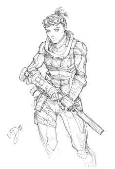 Mercenary 1 by Max-Dunbar.deviantart.com on @DeviantArt