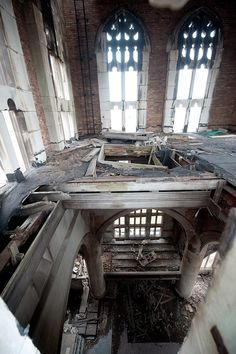 REPINNED FROM ABANDONED SPACES BY