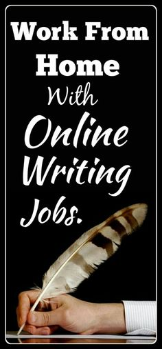 Online writing jobs is the best way to Work from home and Make money online with online writing jobs. The best method to earn money online and the best online job for college students. No experience needed. Click the pin to see how >>>