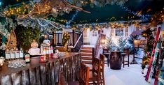 Still not quite in the festive spirit? We defy anyone (even a bonafide Scrooge) not to be after a visit to one of these 12 yuletide-themed pop-ups, which encompass everything from Christmas movie nights and Victorian circuses to forest-based feasts and candlelit cocktails. So good, we dare you to pick just one...