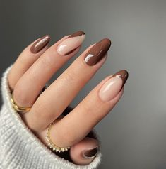 Manicure, Nails, Brown Aesthetic, Hair Beauty, Nail Art, Hobbies, Beauty, Ongles, Nails Inspiration